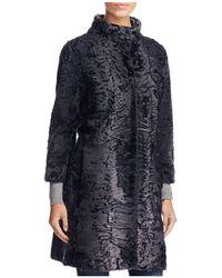 Maximilian - Persian Lamb Fur Coat - Lyst
