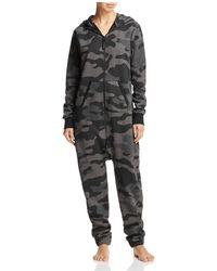 OnePiece - Camouflage Jumpsuit - Lyst