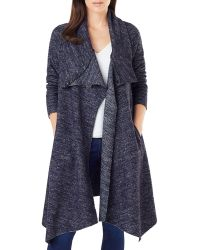Phase Eight - Bellona Marled Duster Cardigan - Lyst