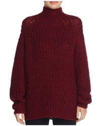Signorelli - Oversize Chunky Turtleneck Sweater - Lyst