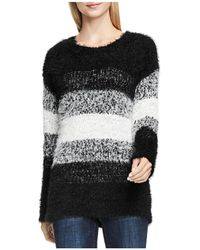 Two By Vince Camuto - Striped Eyelash Jumper - Lyst