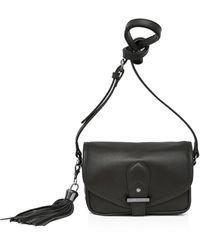 Joe's - Berkely Small Leather Saddle Bag - Lyst