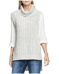 Two By Vince Camuto - Chunky Sleeveless Jumper - Lyst