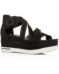 Eileen Fisher - Women's Platform Wedge Sandals - Lyst