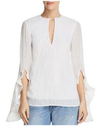 C/meo Collective - Sacrifices Flutter-cuff Top - Lyst