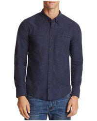 Blank NYC - Welt Pocket Regular Fit Button-down Shirt - Lyst