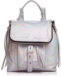 Botkier | Warren Metallic Leather Backpack | Lyst