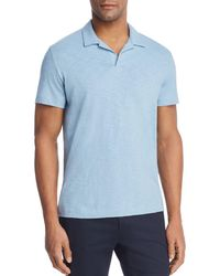 Theory - Willem Short Sleeve Polo Shirt - Lyst