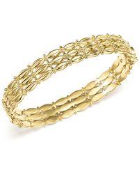 Temple St. Clair - 18k Yellow Gold Vigna Bracelet With Diamond - Lyst