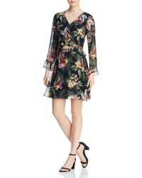 Sam Edelman - Floral Cutout Dress - Lyst
