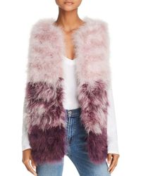 525 America Color-blocked Feather Vest