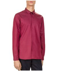 The Kooples   Trevi Cord Slim Fit Button-down Shirt   Lyst