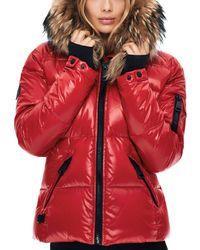 Sam. - Blake Fur-trim Down Coat - Lyst