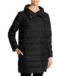 Eileen Fisher - Stand Collar Puffer Coat - Lyst