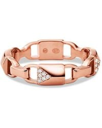 c9657c10111c Michael Kors - 14k Rose Gold-plated Sterling Silver Or Solid Sterling  Silver - Lyst