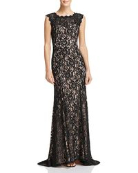 Decode 1.8 - Scalloped Lace Gown - Lyst