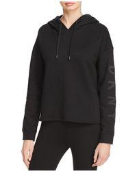 Donna Karan - Logo Pullover Hoodie - Lyst