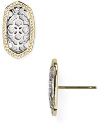 Kendra Scott - Ellie Filigree Stud Earrings - Lyst