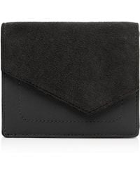 Botkier - Cobble Hill Small Suede & Leather Wallet - Lyst