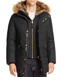 Mackage - Edward Fur Trim Hooded Jacket - Lyst