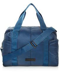 Lyst - Adidas By Stella Mccartney Small Gym Bag in Black cf1f665ba9