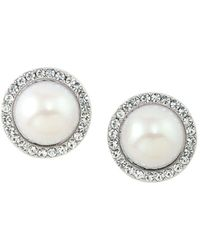 Carolee - Clip-on Stud Earrings - Lyst