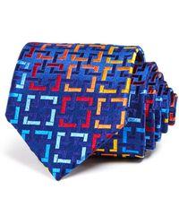 Robert Talbott - Bright Interlocking Squares Classic Tie - Lyst