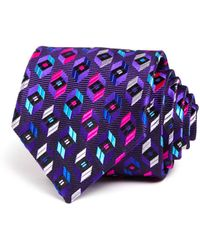 Robert Talbott - Bright Prism Hexagon Neat Classic Tie - Lyst