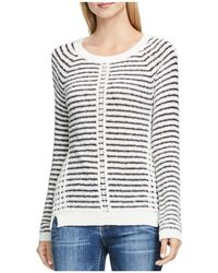 Two By Vince Camuto - Textured Stripe Jumper - Lyst