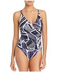 La Blanca - Bali Cross Back One Piece Swimsuit - Lyst