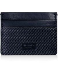 Shinola | Embossed Card Case | Lyst