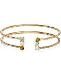 Nadri - Palma Flexi Cuff Bracelet - Lyst