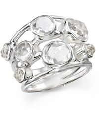 Ippolita - Sterling Silver Rock Candy Constellation Ring In Clear Quartz - Lyst
