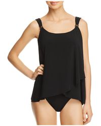 Miraclesuit | Four Tops Dazzle Tankini Top | Lyst