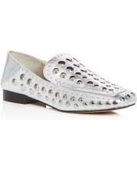 1.STATE - Women's Flintia Embellished Leather Apron Toe Loafers - Lyst