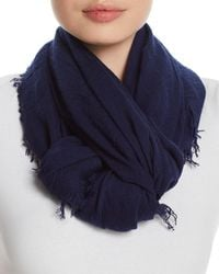 Fraas - Solid Oblong Scarf - Lyst