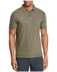 John Varvatos - Peace Sign Burnout Polo Shirt - Lyst