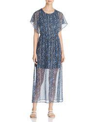 Vero Moda - Fay Illusion - Hem Maxi Dress - Lyst