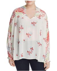 Lucky Brand - Floral Print Tunic - Lyst