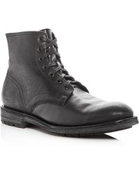 Frye - Men's Bowery Pebbled Leather Boots - Lyst
