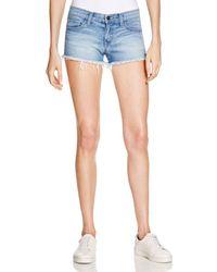 Flying Monkey - Cutoff Denim Shorts In Medium Wash - Lyst