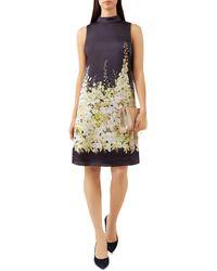 Hobbs - Delilah Floral Print Tunic Dress - Lyst