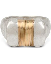 Robert Lee Morris - Two-tone Coil Topper Ring - Lyst