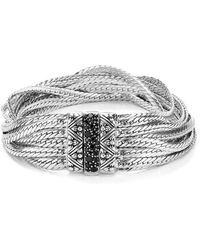 Stephen Dweck - Layered Chain Black Sapphire Bracelet - Lyst