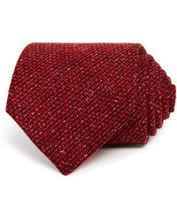 Turnbull & Asser - Textured Solid Classic Tie - Lyst