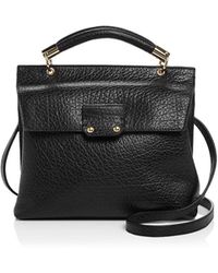 Etienne Aigner - Althea Small Leather Satchel - Lyst
