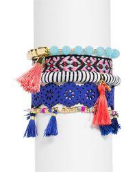 BaubleBar - Mahala Bracelets - Set Of 5 - Lyst