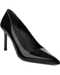 Via Spiga - Women's Nikole Patent Leather Stiletto Court Shoes - Lyst