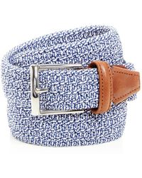 Andersons - Woven Stretch Belt - Lyst