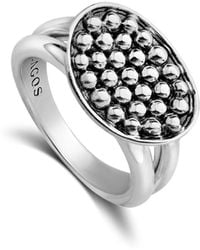 Lagos - Signature Caviar Horizontal Ellipse Ring - Lyst